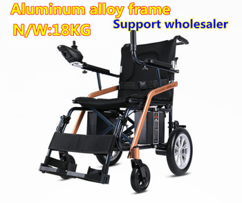 Cheapest Ultralight Folding comfortable small electric wheelchair for disable,elderly