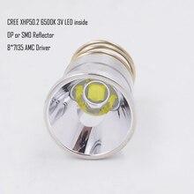 26.5 مللي متر XHP50.2 3 فولت 2600 لومينز LED لمبة قطرة في ل Surefire C2 Z2 P60 P61 6P 9P G3 S3 D2 مانتا راي M5 M6 WF 501B WF 502B الشعلة