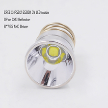 26.5mm XHP50.2 3V 2600 lumen LED lamp drop in voor Trefzekere C2 Z2 P60 P61 6P 9P G3 S3 D2 Manta Ray M5 M6 WF 501B WF 502B torch