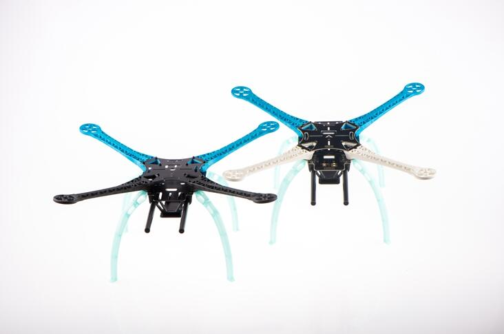 1set S500 SK500  PCB/ GF Glass Fiber Four Axis Qudcopter Frame High Landing Gear Fr  F450 Upgrade Version FPV Qudcopter Frame 1set glass