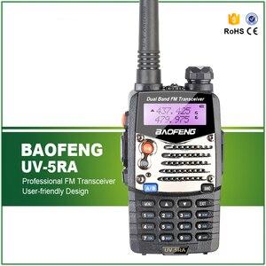 Новый Baofeng UV-5RA для полицейских Walkie Talkies сканер радио Vhf Uhf двухдиапазонный радиоприемопередатчик Бесплатная гарнитура