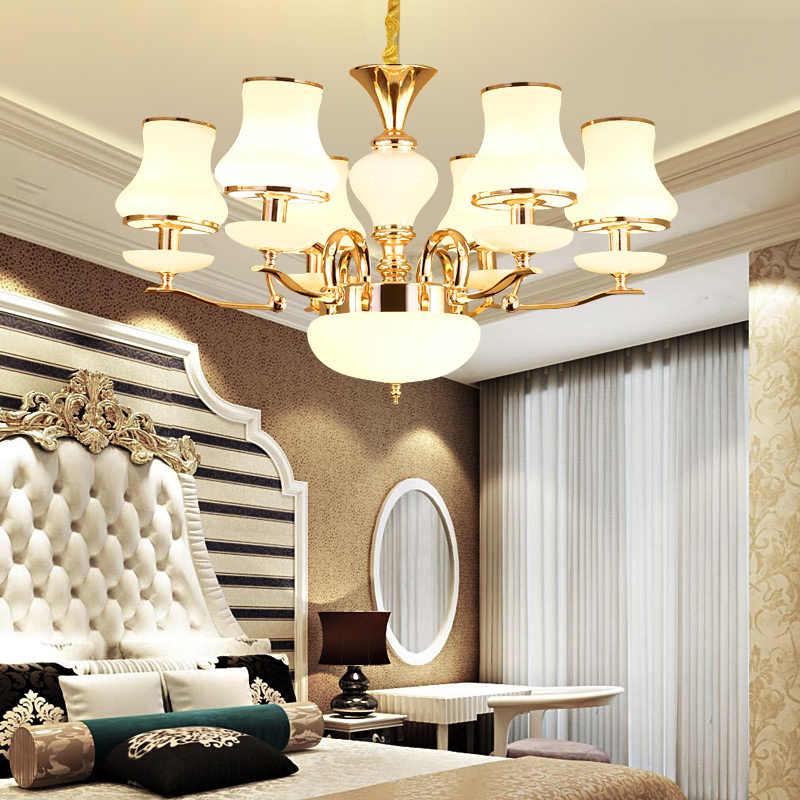 Современный светодиодный Золотой Хрустальный люстры lustresгостиная столовая лампадарио светодиодный candelabros decorativos