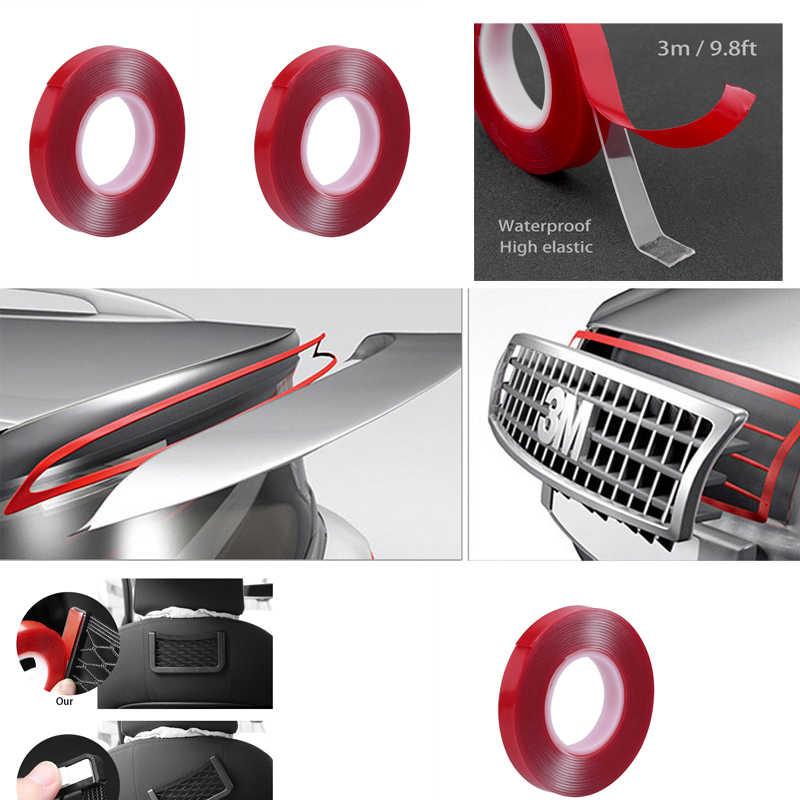 300 см Прозрачная силиконовая Двухсторонняя клейкая лента для автомобиля высокая прочность без следов клейкая наклейка товары для жизни