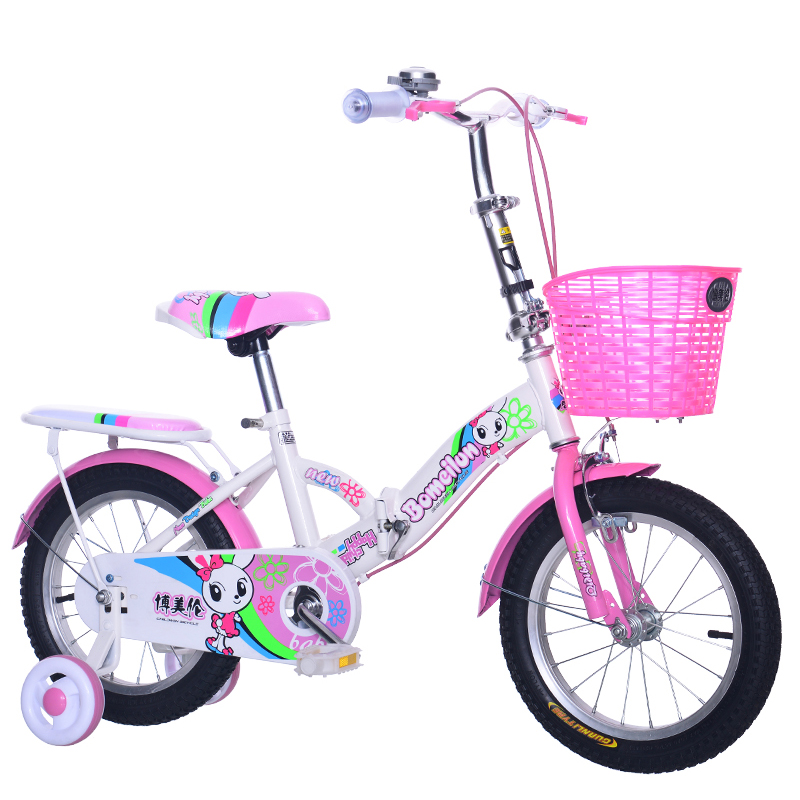 Child Folding Bicycle 12/14/16/18 inch kids cycling bike student bicycle for Boys and girls Light folding bike Gift for children