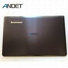 ใหม่สำหรับ Lenovo Ideapad Z570 Z575 หน้าจอ Lcd ด้านหลังฝาปิดกรณีด้านหลังฝาปิด 60.4M436.001