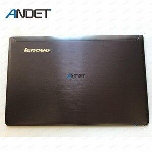 Image 1 - Новый оригинальный ЖК экран для Lenovo Ideapad Z570 Z575, задняя крышка, задняя крышка 60.4M436.001