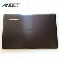 New Original For Lenovo Ideapad Z570 Z575 Lcd Screen Back Cover Lid Case Rear Lid 60.4M436.001