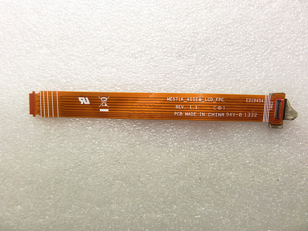 LCD Display Flex Cable For Asus Google Nexus 7 ME571K ME571KL Main Board Module ME571K ASSEM LCD FPC лазерный нивелир ada cube basic edition