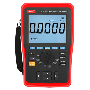 UNI-T UT620B constant current low resistance tester, four wire data measurement USB mass storage transfer backlight