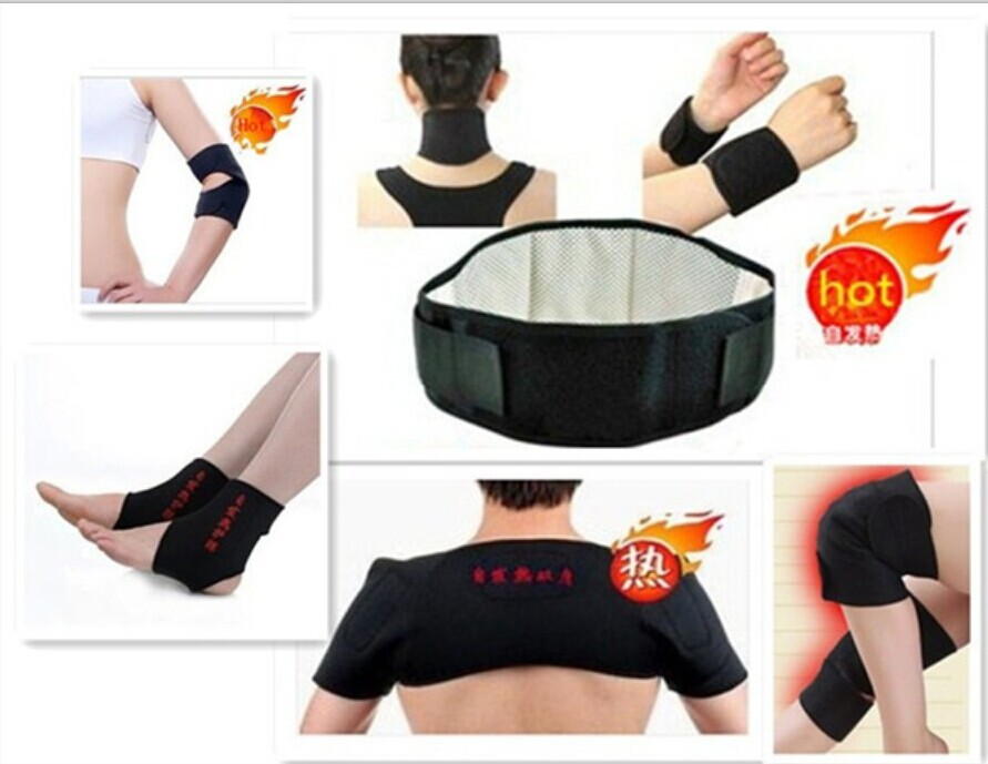 11pcs/set Tourmaline self-heating set Waist belt,knee pad,neck ,wrist,shoulder,ankle,elbow Brace support therapy set health care jsfun 75pcs set fishing lure kit in storage box mixed hard bait soft lures metal lure spoon fishing tackle accessory fu263