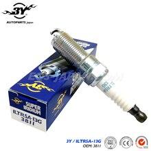 Set (4) ILTR5A-13G 6859/3811 vela de Ignição Do Carro Para Besturn B70 B90 X80 2.0L FORD Mondeo zhisheng 2.3L S-MAX iridium Super