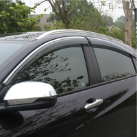 High Quality 4 Pcs Set SWIFT Wind Rain Sun Guards Visor Vent Awnings Shelters For Toyota