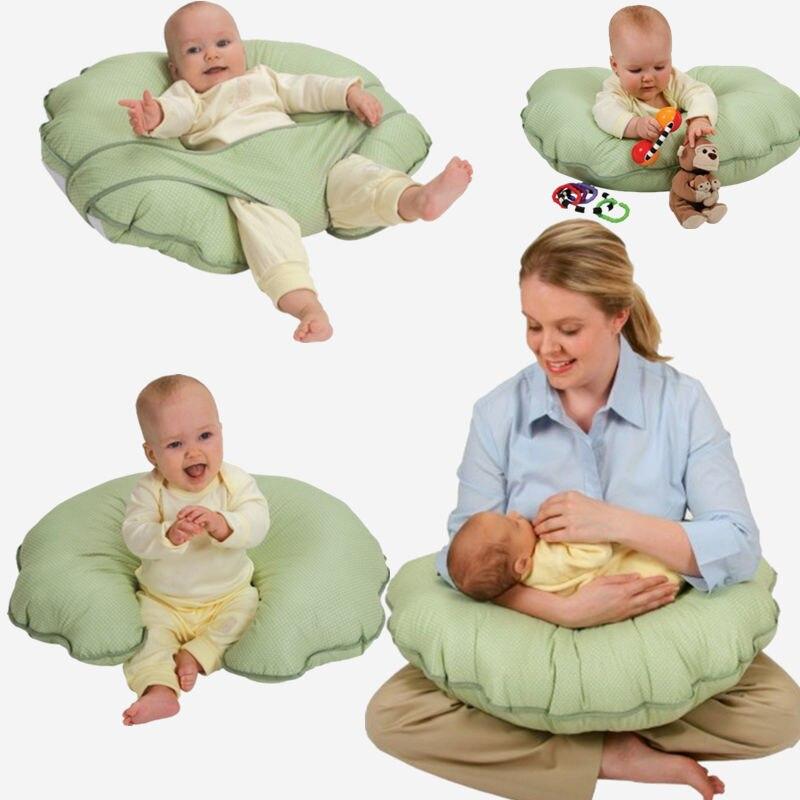 ФОТО Nursing Breastfeeding Pillow Cushion Infant Feeding Newborn Baby Multifunction Support Safety 100% Cotton High Quality  Cuddle-U