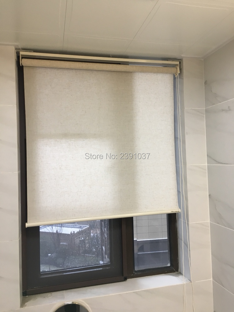 Brand new Customized curve valance roll up zabra roller blind Thermal Insulated Sun blin ...