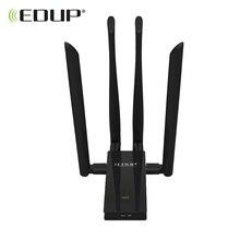 EDUP 5 ГГц usb-адаптер Wi-Fi 1900 Мбит/с 802.11ac междугородние Wi-Fi приемник 4* 6dBi антенны двухдиапазонный USB 3.0 Ethernet-адаптер