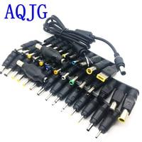 40 шт. 5,5*2,1 мм jack DC Вилки для ноутбука AC Мощность зарядки адаптер компьютер советы разъемы для dell для hp Для Тетрадь AQJG