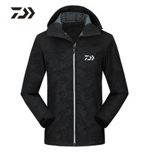 2018 New Fishing Clothes Jacket Parka Plus Velvet Keep Warm Autumn And Winter Waterproof Coat Free Shipping Fishing Clothing