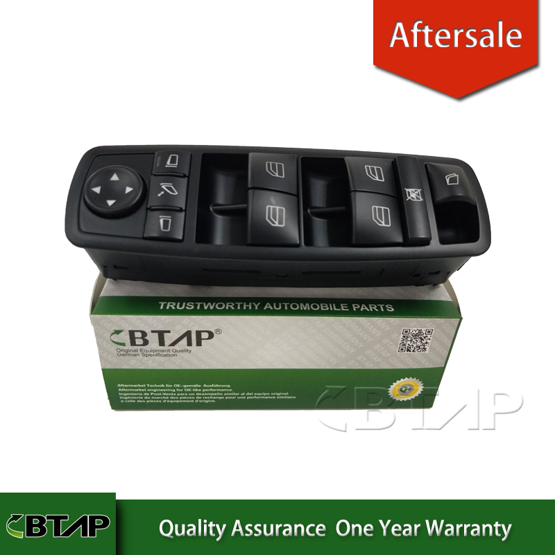 BTAP Power Window Control Switch For Mercedes GL450 GL350 GL550 R350 R320 W164 W251 2518300590 251