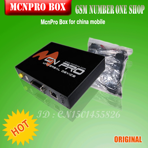 100%original McnPro Box is Professional Phone Software Solution, the best software for china mobile