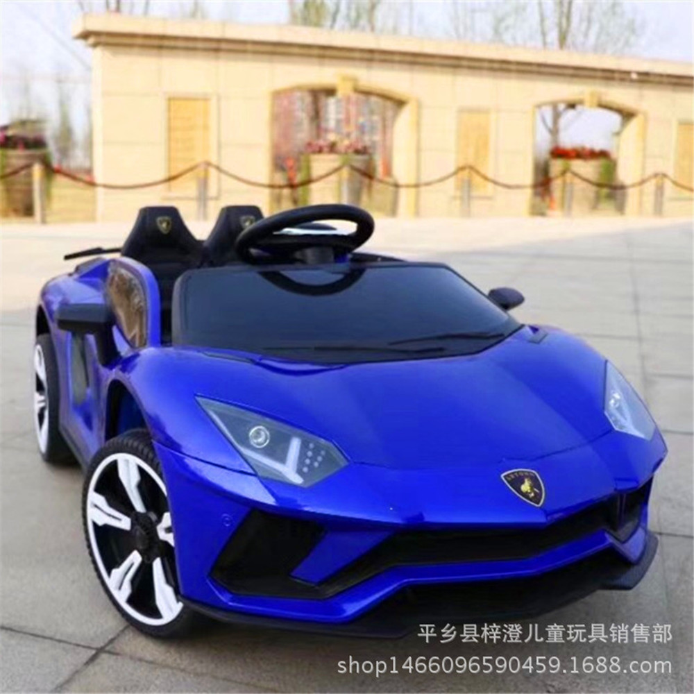 New Children Electric Vehicle Wheel Swing Double Drive Control A Storage Battery Car Baby Child Toys Can Sit People Automobile the new big baby children remote control rc ride on electric car four wheel double drive toy car rechargable baby can sit on