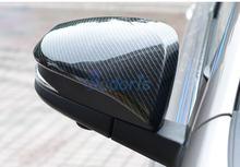 Хромированный автомобильный Стайлинг накладка на зеркало abs