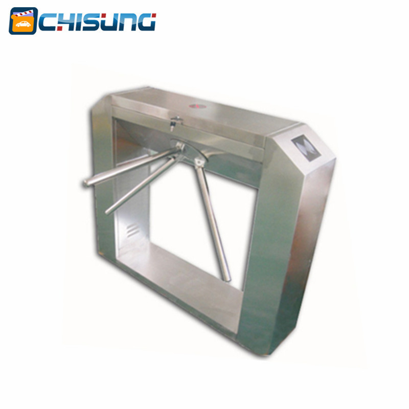 New factory RFID access control Cheapter Semiautomatic Bridge Tripod Turnstile with housing 304 stainless steel double sided turnstile for access control system catracas tourniquetes