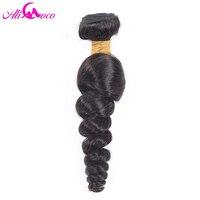 Ali Coco Hair Brazilian Loose Wave Hair 100 Human Hair 100g Non Remy Hair Natural Black