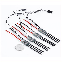 4 pcs/lote 20A Mini 2 4S Lipo ESC (No BEC) ONESHOT125 For Quadcopter FPV Helicopter Airplane QAV EMAX ZMR 220