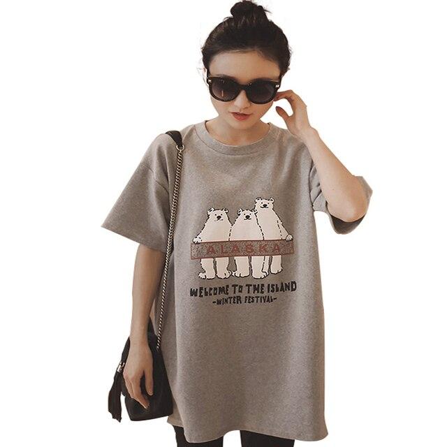 Vintage Retro 90s Style Oversize Boyfriend T shirt Dress Top Plaine Pour  Femme Noir Tee