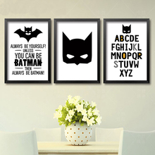 Cartoon Batman Poster (4 Sizes)