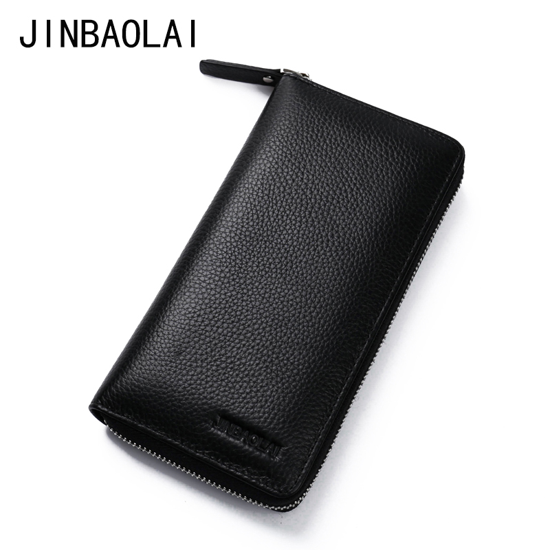 Fashion Men Genuine Leather Long Purse Wallets Brand Design High Quality 2017 Cell phone Card Holder Long Lady Wallet Clutch joyir embossed flowers genuine leather women wallets brand design fashion long purse clutch coin purse card holder lady female27