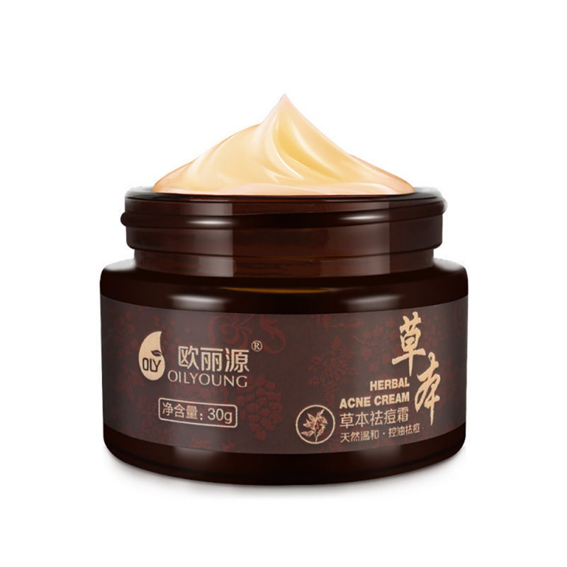 Facial Face Cream Daily Skin Care Makeup Anti-Pimple Acne Herbal Cream Local Cleansing Treament Acne Beauty Whitening Cream