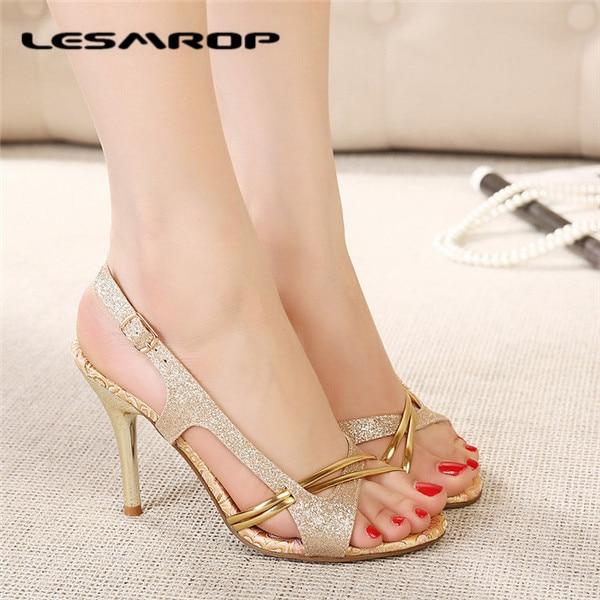 8f902916bc Novas mulheres de sapatos de verão sandálias confortáveis sapatos de salto  alto de bico aberto sandálias