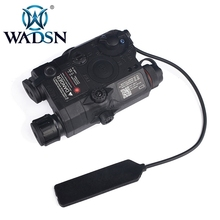 WADSN Airsoft LA-5 Red Lazer IR Laser LED Flashlight UHP Appearance IR laser PEQ 15 LA5C red lazer Tactical Weapon Light WEX396 цена в Москве и Питере