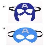 Captain America mask Batman Superhero Cosplay Superman Avengers Thor Halloween Christmas kids Party Masquerade Costumes Masks