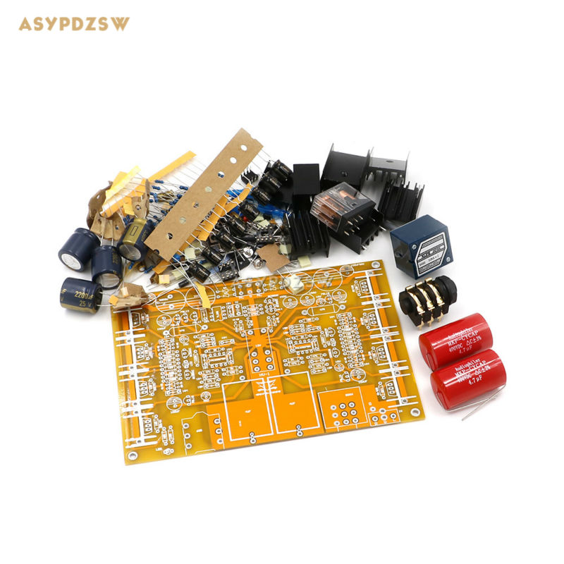 Transformer DIY Kit HD-8-A1-PRO Headphone Amplifier Amp box Headphone Amp kit
