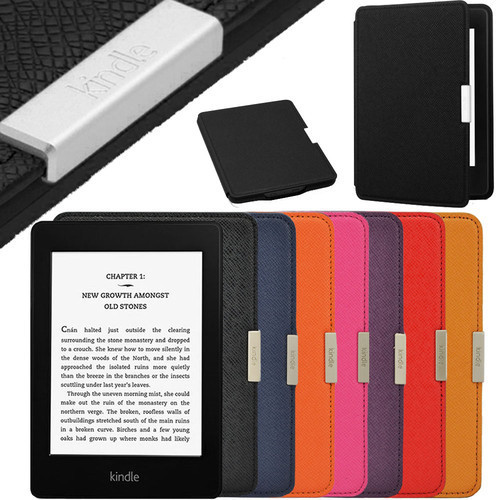 MAGNETIC Auto Sleep Slim COVER CASE FOR KINDLE PAPERWHITE Original Edition + SCREEN PROTECTOR