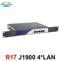 J1900 mini pc firewall appliance hardware with 4*Intel 82583V LAN FIREWALL Support pfsense appliance