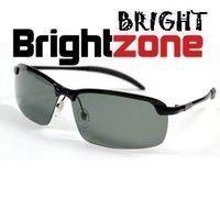 Anti UVA Band Name Designer High Grade Half Glasses Vintage Authentic Polarized Lenses Sunglasses Black Gungrey