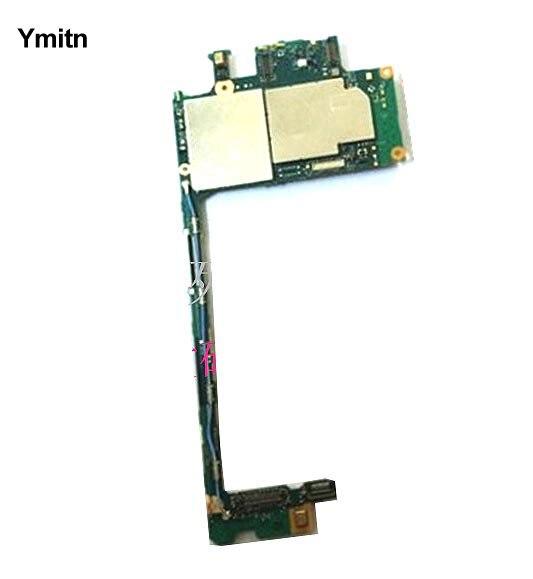 Ymitn Mobile Électronique panneau carte mère Carte Mère Circuits Câble Pour Sony xperia Z5 E6883 E6833 E5803 E5823 E6603 E6653