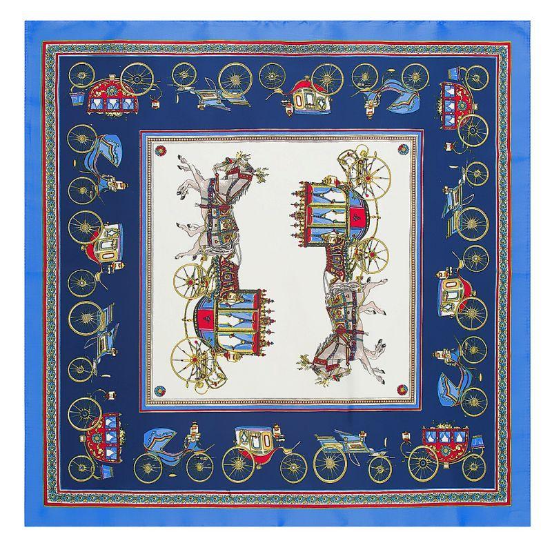 POBING 60 cm   60 cm Cheval Imprimer Carré de Soie Écharpe Femmes Marque De  Mode a1e63e13e5f
