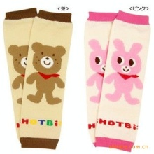 1 Pair  Newborn Leg Warmers Kawaii Bear&Rabbit Cartoon Legging Baby Boys Girls Legging Protectors Children Knee Pads Leg Warmers