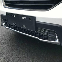 WELKINRY car auto cover For Honda CR V CRV 2017 2018 ABS chrome front head bumper rear tail bumper protective trim