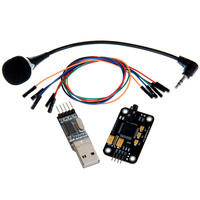 Geeetech Voice Recognition Module Microphone USB To RS232 TTL Converter Dupont