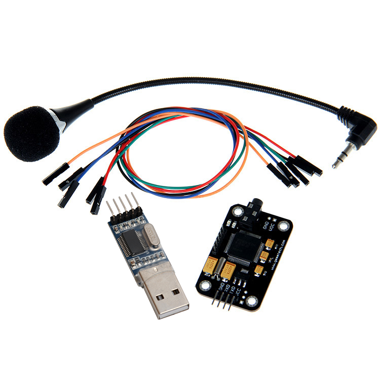 цена на Geeetech Voice Recognition Module & microphone USB to RS232 TTL Converter Dupont