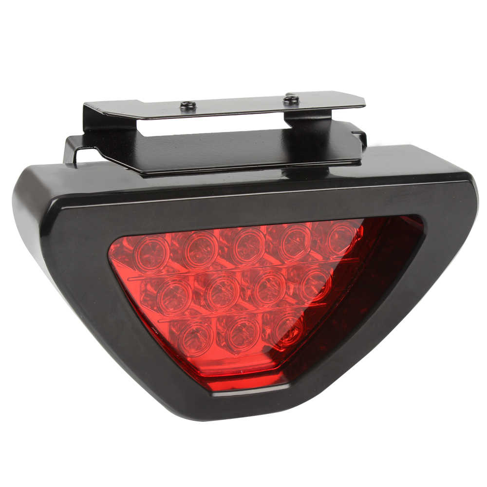 LEEPEE Triangle Car Tail Lights Brake Light Fog Lamp Universal Red LED Flash Bulbs Truck Auto Warning Light Car-styling