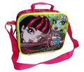Monster High Lunch Bag for Kids Girls School Thermal Lunch Box Bag Messenger Lunchbag Lunchbox Children Cartoon Picnic Food Bag