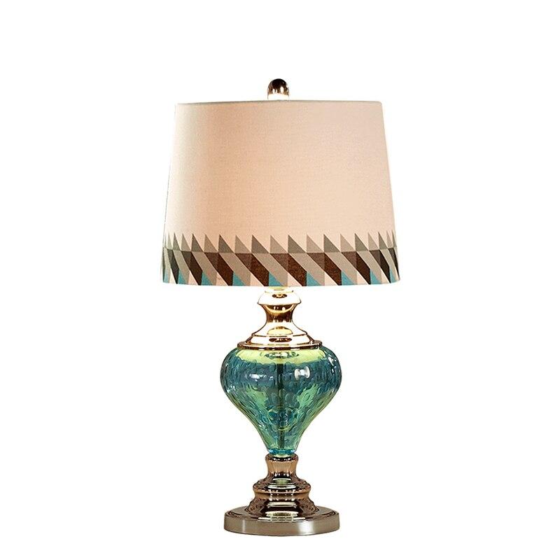 Торжественное платье европейский стиль настольная лампа прикроватная лампа розовый Теплый Творческий Настольная лампа современный прост...