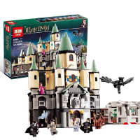 1033Pcs 16029 Model Building Kits Compatible With Lego Harry Potter Bricks Magic Hogwort Castle 3D Blocks