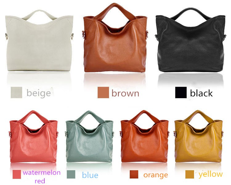 genuine leather bag female 7
